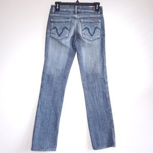 7 For all Mankind Kate Straight Leg Jeans Size 27